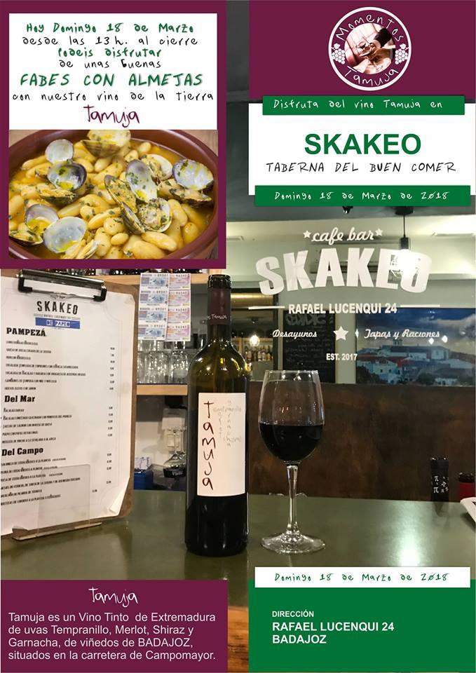 Degustacion-vino-tamuja-restaurante-skakeo-badajoz
